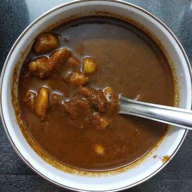 Poondu rasam recipe in Tamil,பூண்டு ரசம், nilopher meeralavai