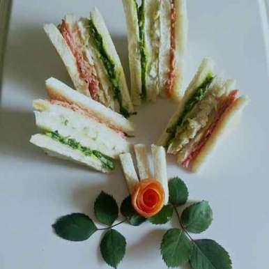 Photo of Tirange sandvich by Nishi Maheshwari at BetterButter