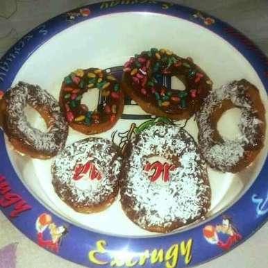 Doughnuts recipe in Hindi,डोनट्स, Nishi Maheshwari