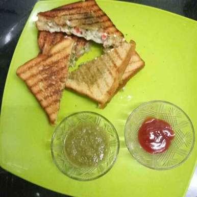 Photo of Veg grilled sandwich by Nitu Singh at BetterButter