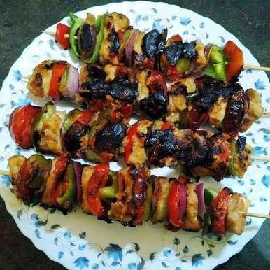 Photo of Chicken Saslik Kabab by PALLABI GHOSH at BetterButter