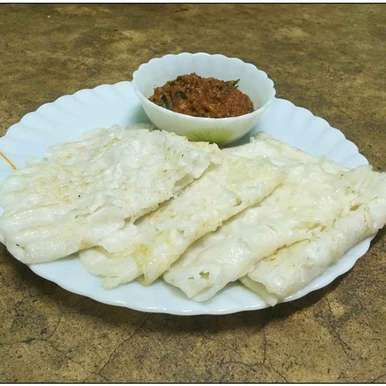 Photo of Neer Dosa with onion chatney by PALLABI GHOSH at BetterButter