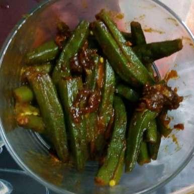 Photo of Stir Okra Fry by Panchali Chakraborty at BetterButter