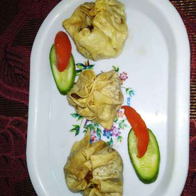 Photo of Pampar chicken momo by Papia Chakrabarty at BetterButter