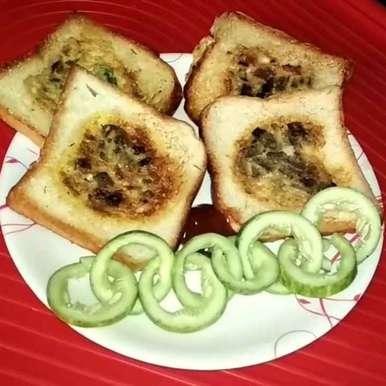 Photo of bread omlet by Papiya Modak at BetterButter