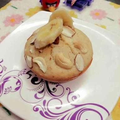 Photo of Banana cup cake by Papiya Nandi at BetterButter