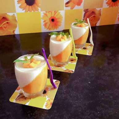 Photo of Mango panna cota by Papiya Nandi at BetterButter