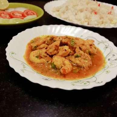 Photo of Goan coconut prawn curry by Papiya Nandi at BetterButter