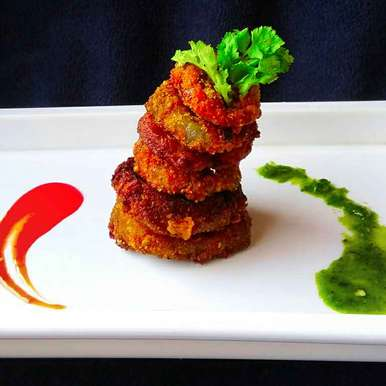 Photo of Green onion fry by paramita Dutta at BetterButter