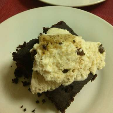 Photo of 2 Minutes Microwave Brownie by Paramita Majumder at BetterButter