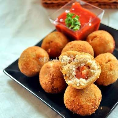 Photo of Five Spice Flavoured Stuffed Cottage Cheese Balls by Pari Vasisht at BetterButter