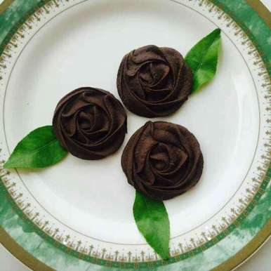 Photo of Three ingredients chocolate biscuits by Parul Bansal at BetterButter