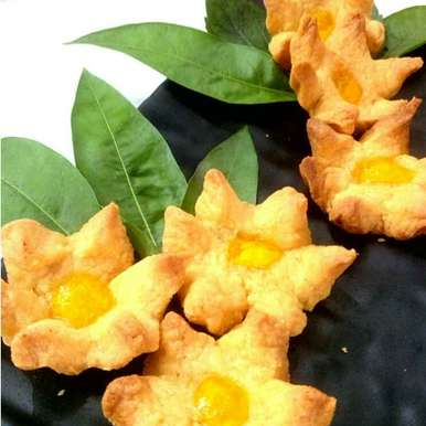 Photo of Sunflower biscuits by Parul Jain at BetterButter