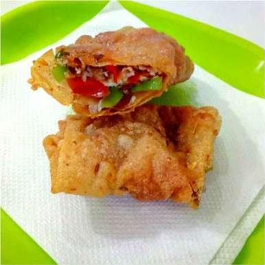 Jhatpat spring roll recipe in Hindi,झटपट स्प्रिंग रोल, Parul Jain
