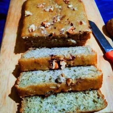 Photo of Gehun aate se bana kela akhrot kek ( banana walnuts cake) by Parul Sharma at BetterButter