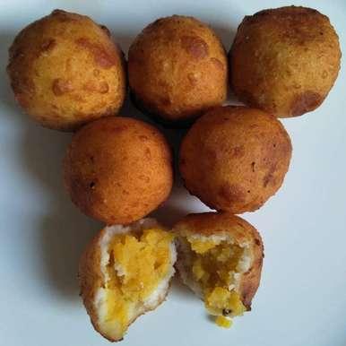 Photo of Milk sweet balls by Pasumarthi Poojitha at BetterButter