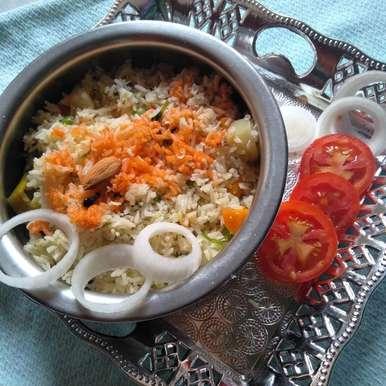 Photo of Veg peas pulao by Pasumarthi Poojitha at BetterButter