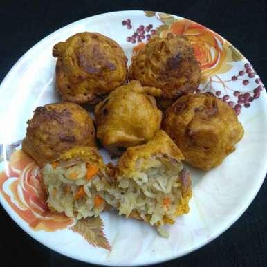 Photo of Noodles bonda by Pasumarthi Poojitha at BetterButter