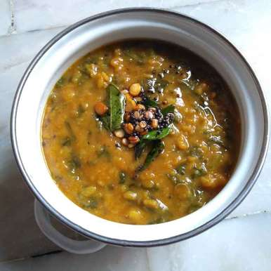 Photo of Spinach dal by Pasumarthi Poojitha at BetterButter