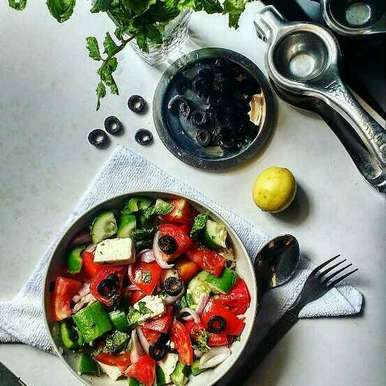 Photo of Greek salad by Pavana Bhat at BetterButter