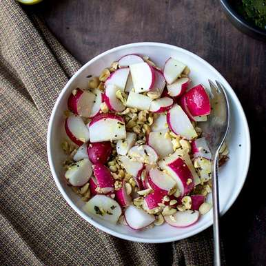 Photo of Radish & Peanut Salad by Pavani Nandula at BetterButter