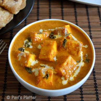 Photo of Paneer Butter Masala by Pavithira Vijay at BetterButter