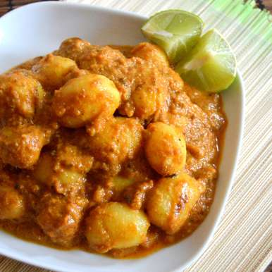 Punjabi Dum Aloo, How to make Punjabi Dum Aloo