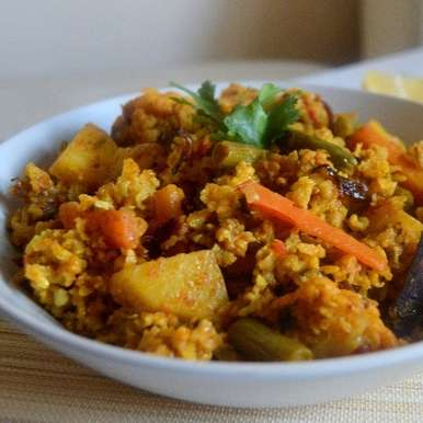 Photo of Brown Rice One Pot Veg Biriyani by Pavithira Vijay at BetterButter