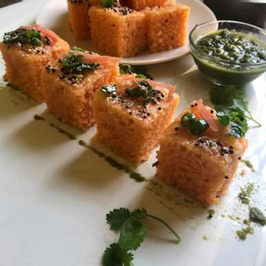 Rava Carrot Dhokla, How to make Rava Carrot Dhokla