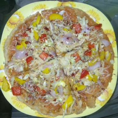 Photo of Wheat base pizza by Pina Raval at BetterButter