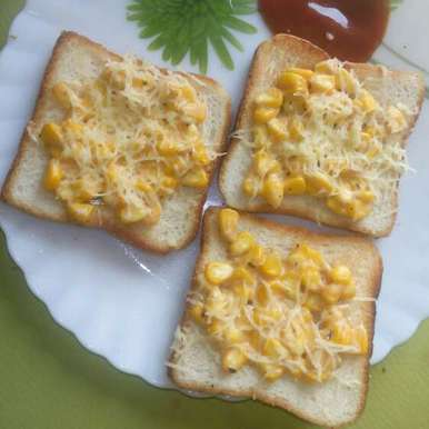 Photo of Corn toast by Pina Raval at BetterButter