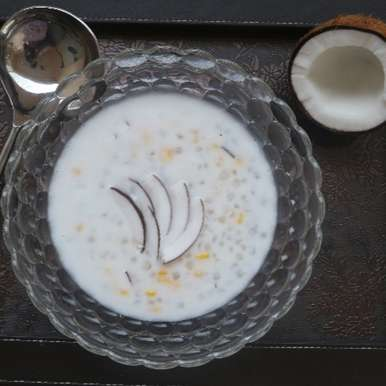 Photo of Saago Kheer in Coconut Milk by Pinkle Sachdev at BetterButter