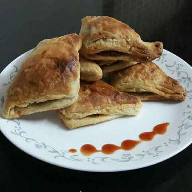 Photo of Veg Puff by Piyali Sengupta at BetterButter