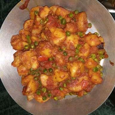Veg potato dom recipe in Bengali,নিরামিষ আলুর দম, Piyasi Biswas Mondal