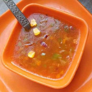 Photo of Corn veg sup by Piyasi Biswas Mondal at BetterButter