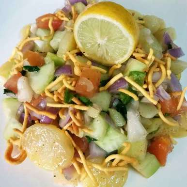 Photo of Alu chaat by Piyasi Biswas Mondal at BetterButter