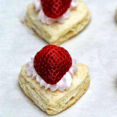 Photo of Strawberry French Hearts by Plaza Premium Lounge at BetterButter