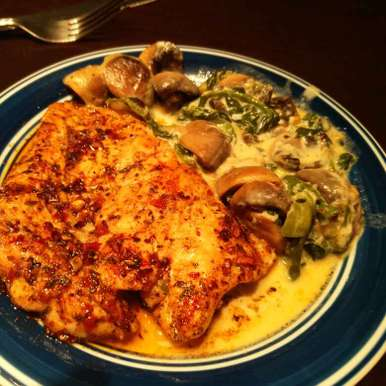 Photo of Chicken with Mushroom sauce by Pooja Jena at BetterButter