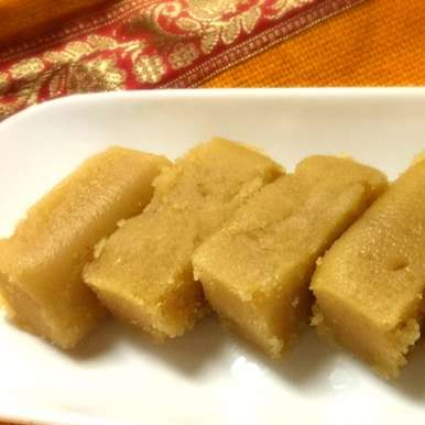 Photo of Mysore Pak / Gram Flour Cake by Pooja Nadkarni at BetterButter