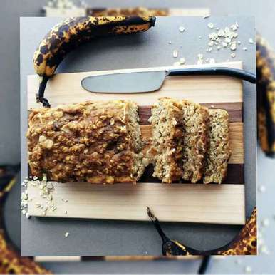 Photo of Banana oats bread by pooja verma at BetterButter