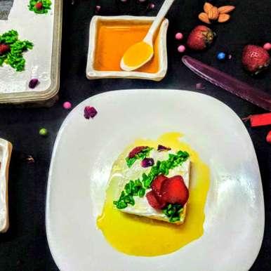 Photo of Layali lubnan/ semolina lebanese pudding by Poonam Arora at BetterButter