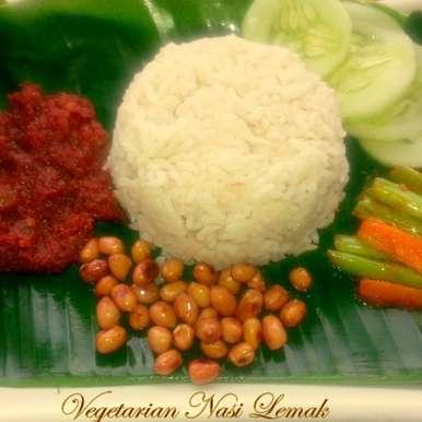 Photo of Vegetarian Nasi Lemak by Poonam Bachhav at BetterButter