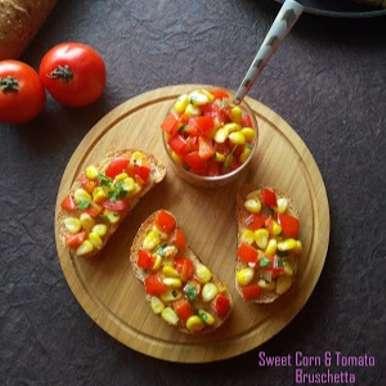 Photo of Sweet Corn and Tomato Brushetta by Poonam Bachhav at BetterButter