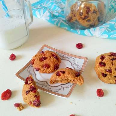Photo of Oatmeal Cranberry Cookies by Poonam Bachhav at BetterButter