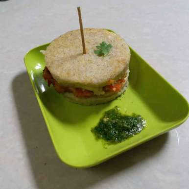 Photo of Idli Burger by Poonam Nikam at BetterButter