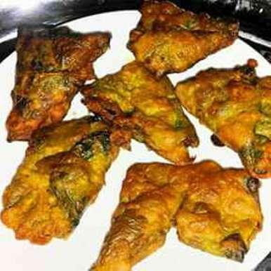 Arbi ke patte ke pakore recipe in Hindi,अरबी के पत्ते के पकौड़े, Poonam Singh