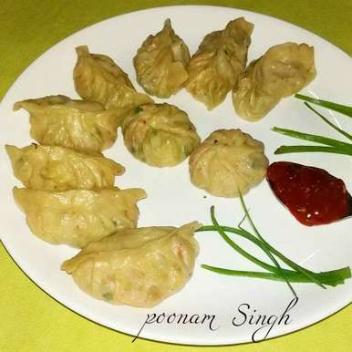 Photo of Veg momos  by Poonam Singh at BetterButter