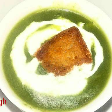 Photo of Palak ka soup by Poonam Singh at BetterButter