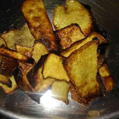 Photo of Elephant Yam or Beet army Fry by poorani Kasiraj at BetterButter