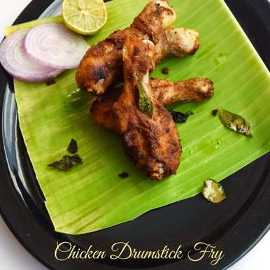 Photo of Spicy Chicken Drumstick Fry - South Indian Style by Poornima Porchelvan at BetterButter